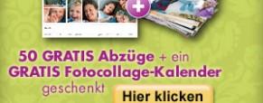 SNAPFISH (DE) : 50 Abzüge und 1 Collage-Kalender GRATIS !
