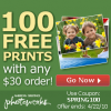 PHOTOWORKS (USA) : 100 free prints with any $30 order