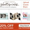 PHOTOWORKS : Save 20% on Photo Cards