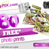 MYPIX (UK) : Get 80 free prints !