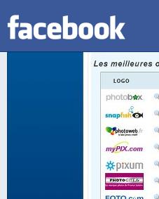Développement photo sur Facebook France